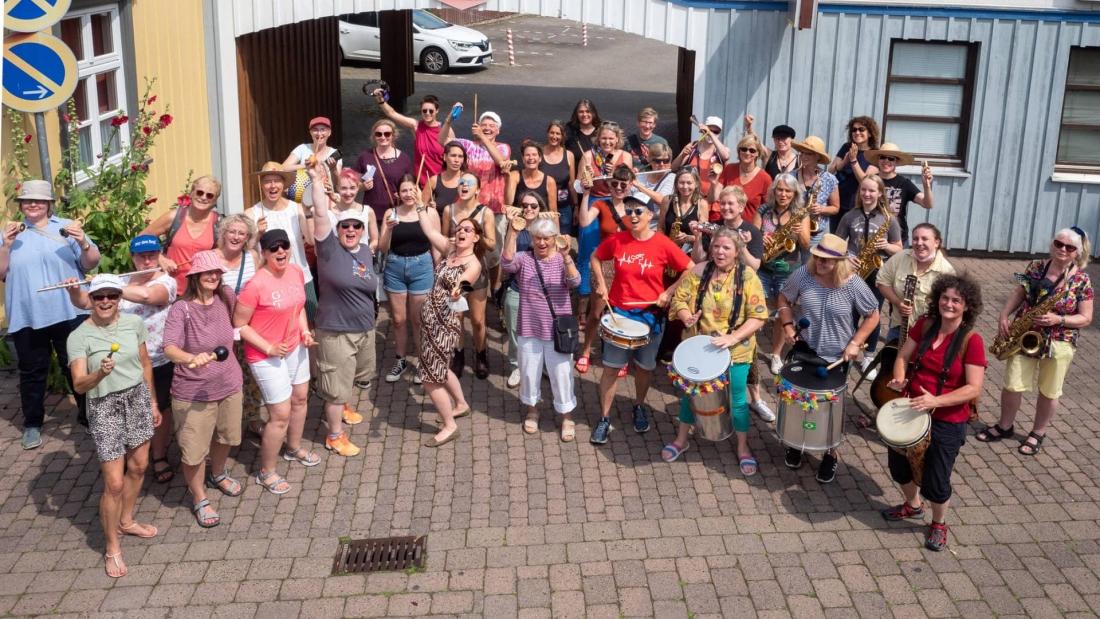 Niedersächsische Frauenmusiktage begeistern Teilnehmerinnen und Publikum
